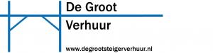 Logo - de groot verhuur